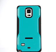 TPU + pc caso especial suporte de design da capa de volta caso mista cor para a nota Galaxy 5 / nota 4 / nota 3