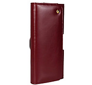 New Luxury Flip Genuine leather Waist hanging case cover for iPhone6