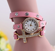 Women's  Fashion Lady With Diamond Bracelet Watch Fashion Quartz Watches Cool Watches Unique Watches