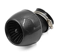 Mushroom Head Carbon Fiber Air Cleaner Pipe