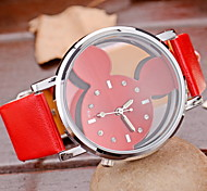Women's  Fashion Watches Leather Band