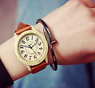 relojes de las mujeres, relojes de imitación madera, reloj de cuarzo analógico, estudiantes reloj, reloj de los hombres, idea regalo