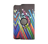 moda cuoio dell'unità di elaborazione di vibrazione dipinto per caso di Samsung Galaxy Tab s 8.4 per Samsung Galaxy Tab s T700 T705