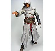 Figure Assassins CreedNECA Cartoon Doll Assassin's Creed Ezio 1 Generation White 1PC 20cm