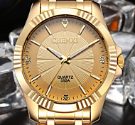 NATATE CHENXI Clock Gold Fashion Men Watch Full gold Stainless Steel Quartz Watches Wrist Watch Wholesale Gold Watch Men Cool Watch Unique Watch