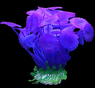 Aquarium Decoration Ornament / Waterplant Non-toxic & Tasteless Plastic