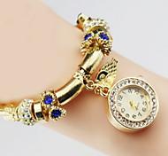 Women's Fashion Quartz Golden Bracelet Watch Alloy Band Cool Watches Unique Watches
