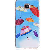 Small Umbrella Pattern Slip TPU Phone Case For Samsung Galaxy A3(2016)/A5(2016)