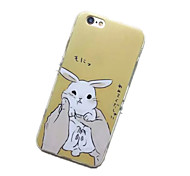Rabbit Pattern TPU Material Phone Case for iPhone 6/6S
