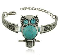 Vintage Palace Owl Turquoise Bracelet Wind