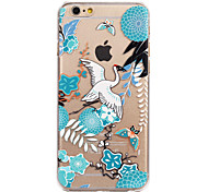 Chinese Landscape Painting Painted Pattern Hard Plastic Back Cove For iPhone6/6S 4.7""