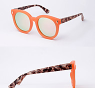 Polarized Round Fashion Mirrored Sunglasses