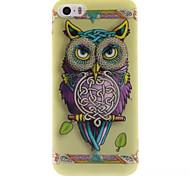 Owl Design IMD+TPU Back Cover Case iPhone SE iPhone 5 iPhone 5S