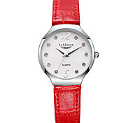 Women's Genuine Leather Water Proof Simple Wrist Watches