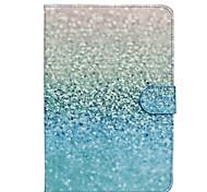 grüne Sand-Muster PU-Leder Ganzkörper-Fall mit Standplatz für ipad mini 4