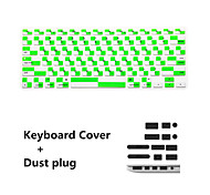"Newest Keyboard Film and Anti-dust Plugs Universal for MacBook  Pro 13/""15"" with Retina Display / Air 13"""