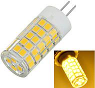 G4 7W 600lm 64-2835 SMD 3500k/6500K Warm/Cool White Light Corn Lamp Bulb(AC 220-240V)