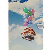 balão de casa padrão TPU suporte de combinação e caso material de couro pu para ipad mini-4