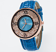 2016 New Ladies Wristwatch Golden Round Dial Rome Number And Special Decoration Quartz Women's Wristwatch Cool Watches Unique Watches