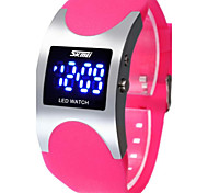 Unisex Sport Digital Watch Fashionable Outdoor Sports Waterproof Jelly Neutral Color Watches  (Assorted Colors)