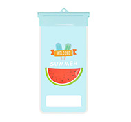 Cartoon Wassermelone Handy wasserdichte Tasche