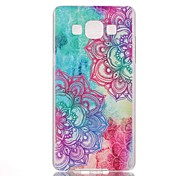 Flower Pattern PC Phone Case For Samsung Galaxy A5 / A3 / A3(2016) /A5(2016) /A7(2016)