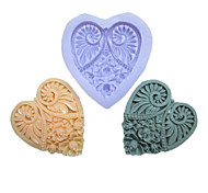 One Hole Long Heart Flower Silicone Mold For Cakes