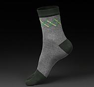 1 пара мужские носки хлопка случайные носки высокого качества для бега / Йога / Фитнес / Футбол / гольф