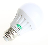 8W E26/E27 Bombillas LED de Globo G45 15 SMD 5730 600 lm Blanco Cálido / Blanco Natural Decorativa AC 85-265 V 1 pieza