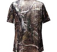 Baum Tarnung Kurzarm-T-Shirt