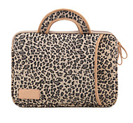 Leopard grain Protective Sleeve Laptop Computer Handbag for Macbook Air 13.3 Macbook Pro 13.3/15.4