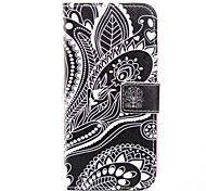 Coloured Drawing PU Leather Holster Including One Anti-dust Plug One stylus for iPhone 6/6S