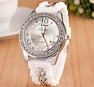 Women's Fashion Rubber Band Watch