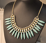 Z&X® Alloy Necklace Collar Necklaces Party / Daily / Casual 1pc