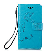PU Leather Material Embossing Holster for iPhone 6 Plus