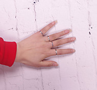 Alloy Ring Band Rings Daily / Casual / Sports 1pc