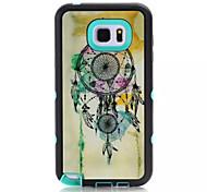 koele hybride 2 in 1 geval voor Galaxy noot 5 luxe harde pc + TPU achterkant voor Samsung Galaxy Note 5