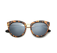 Sunglasses Unisex's Fashion 100% UV400 Round Tortoiseshell Sunglasses