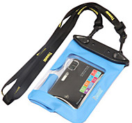 PVC Material Waterproof Bags for Cameras in Swimming and Other Water Sports(Random Colors)