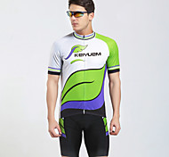 KEIYUEM Bike/Cycling Jersey + Shorts / Clothing Sets/Suits Unisex Short SleeveWaterproof / Breathable / Insulated / Quick Dry /
