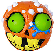 Madhedz 2 Layers Magic Cube Funny Toys Crazy Skull Orange