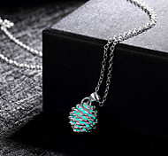 New Magical Glow in the Dark Luminous Ball with Cirrus Pendant Necklace