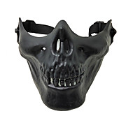 Outdoor Sports Skull  Half Face Military Mask Defensive CS Mask