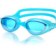 YUKE Swimming Goggles Women's / Men's / Unisex Anti-Fog / Waterproof / Adjustable Size / Anti-UV / For nearsightedness Silica Gel PC