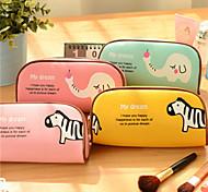 Cute Animal Park Stationery Bag Large Creative Simple Pencil Case