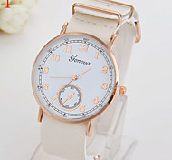 Ladies' Watch Fashion Geneva Women's Slim Belt Watch