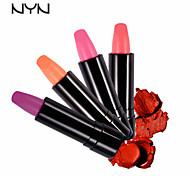 Rouges à Lèvres Humide Baume Gloss coloré / Longue Durée / Naturel Rouge / Violet / Rose 1 NYN