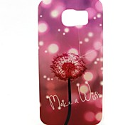 Fluorescent Dandelion Painted TPU Phone Case for Galaxy S7/S7edge/S7plus