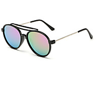 Kids Fashion Cute Retro Browline Sunglasses (Random Color)