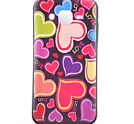 Love Pattern TPU Phone Case For Samsung Galaxy J1 /Galaxy J5 / G5308 / G360
